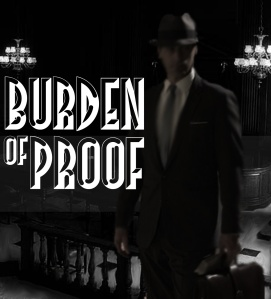 burden of proof poster
